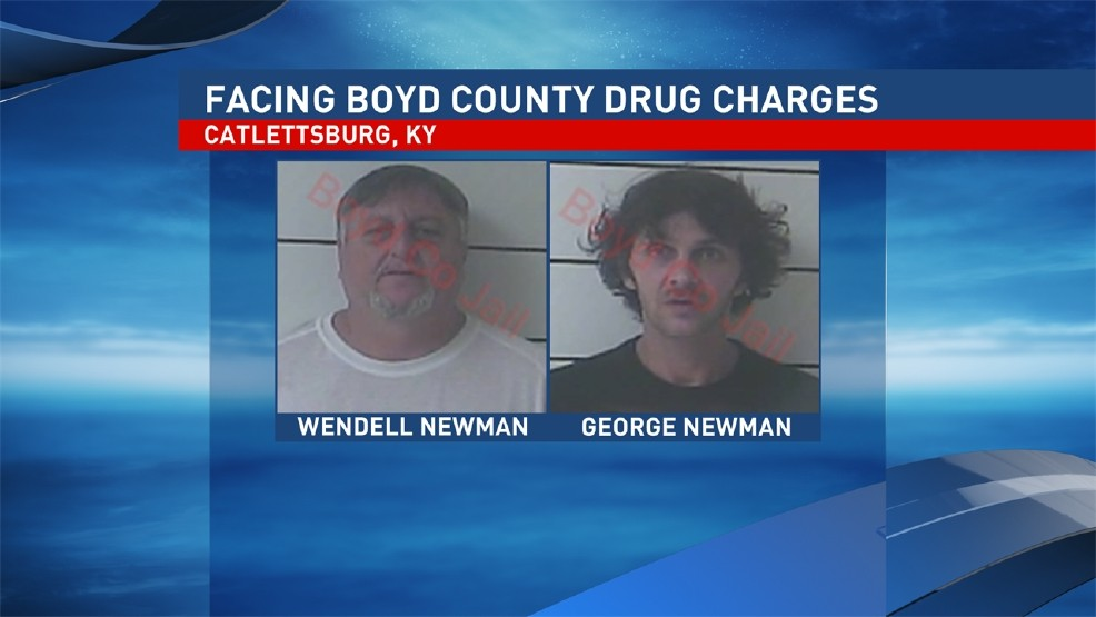 Deputies say father, son arrested following drug bust in Boyd County