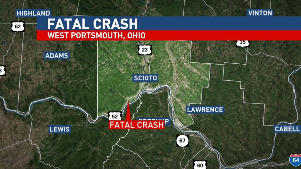 One killed in two-vehicle crash in West Portsmouth, Ohio | WVAH