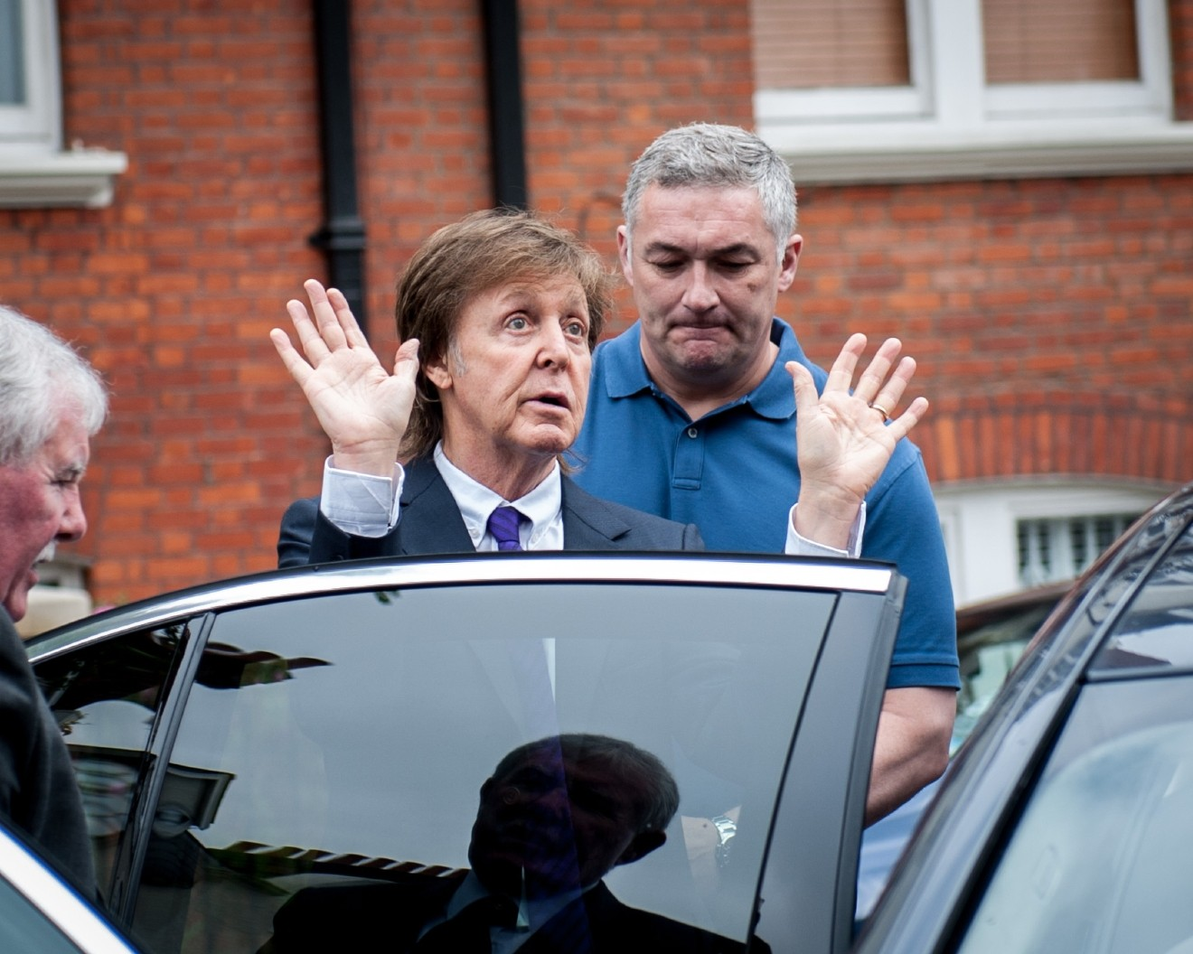 Sir Paul McCartney Singer Song Writer Arrives At The BBCAcAA