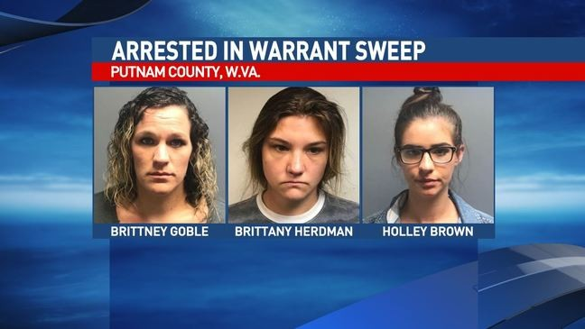 Nine arrested in Putnam County warrant sweep | WVAH